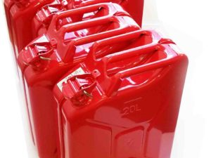 4 PACK – PREMIUM RED JERRYCANS
