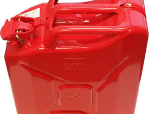 PREMIUM 20L RED METAL JERRYCAN